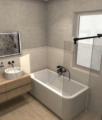 3D návrhy riešenia kúpeľní